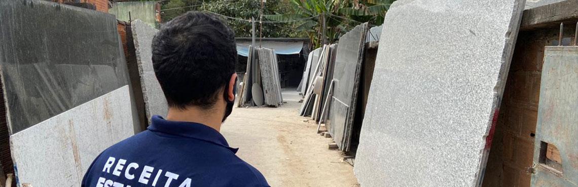 Operação da Sefaz-RJ apura irregularidades na venda de mármore